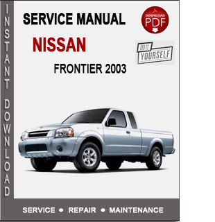 nissan cube service manual
