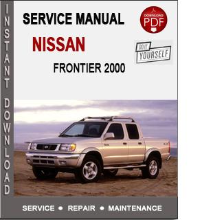 Nissan Frontier 2000