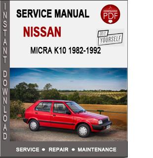 Nissan Micra K10 1982-1992