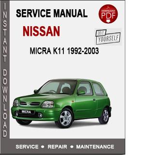 Nissan Micra K11 1992-2003