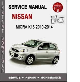 Nissan Micra K13 2010-2014