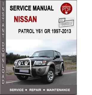 Nissan Patrol Y61 GR 1997-2013