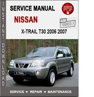 Nissan X-trail T30 2006 2007